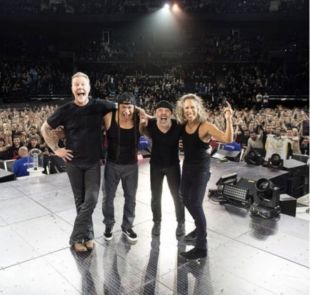 Metallica announce clothing line with Urban Outfitters.