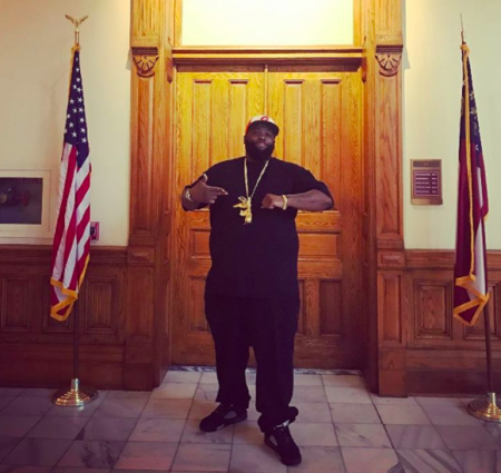 Run The Jewels' Killer Mike was recognized by the state of Georgia on Friday for his work on improving the water infrastructure in his homet