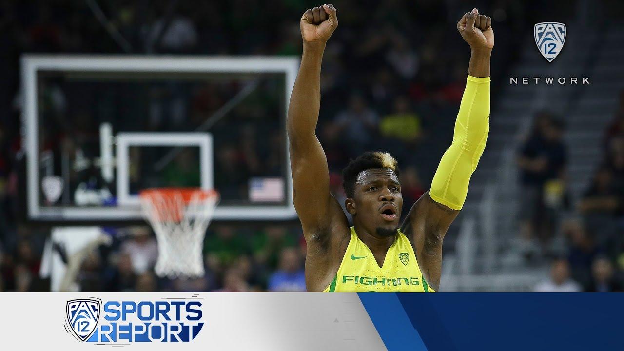 Pac-12 Men's Basketball Tournament Session 5 recap: Oregon and Arizona advance to championship game