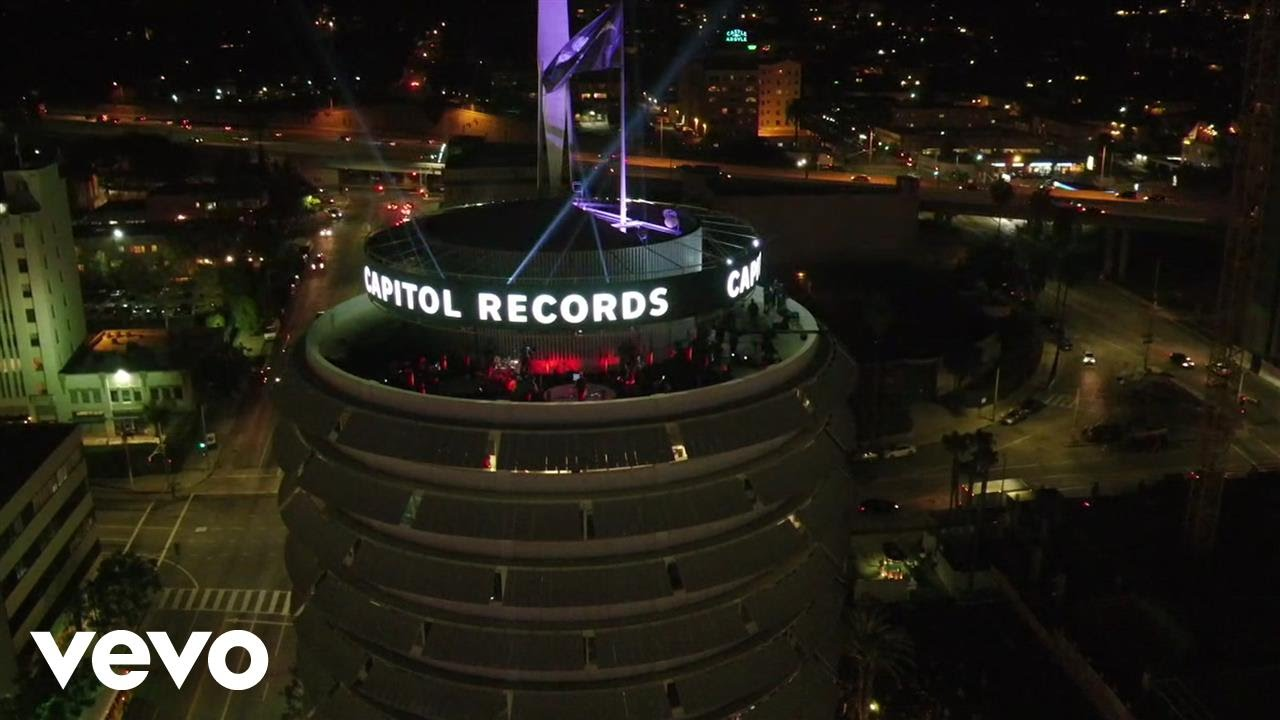 LEGO has designed a brick model of the iconic Capitol Records building
