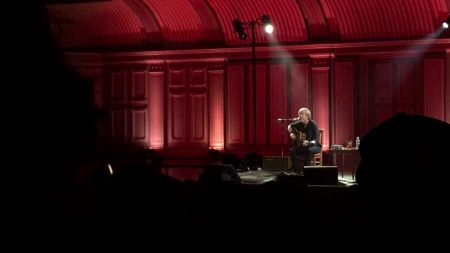 Trey Anastasio busts out debuts, great stories and a David Bowie cover at solo acoustic show in Troy, NY (Watch)