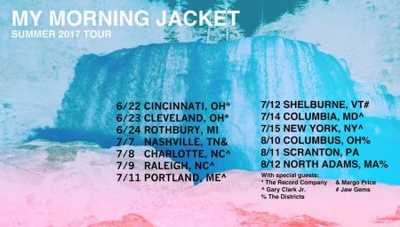 My Morning Jacket announced their 2017 summer tour dates on Monday morning, which includes their first concert at Forest Hills Stadium in Qu