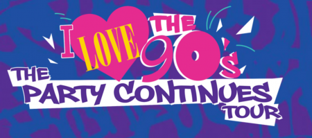 The I Love The 90s Tour is on its way to Atlanta's Infinite Energy Arena on Sept. 9