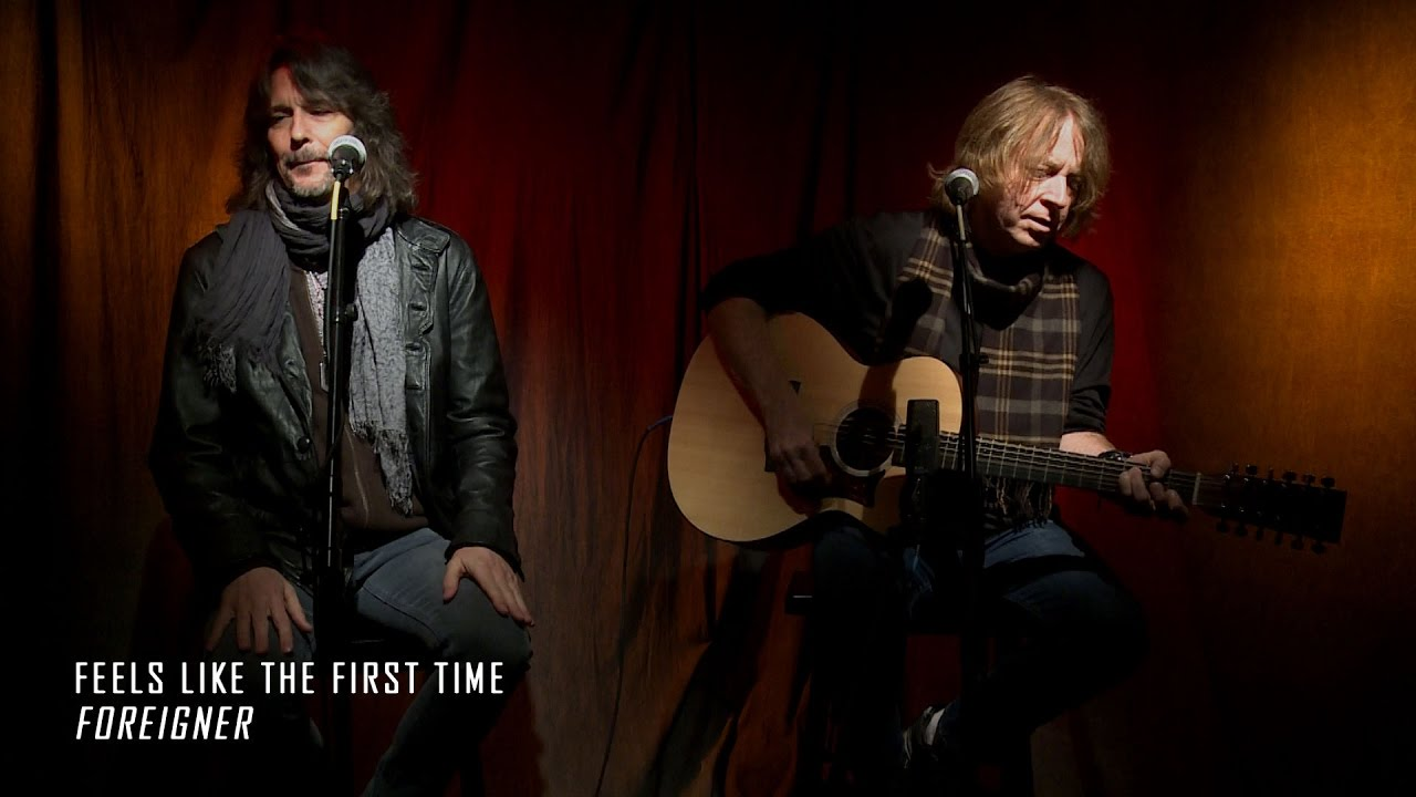 Watch: Foreigner perform a stripped down version of 'Feels Like the First Time' for Alice Cooper