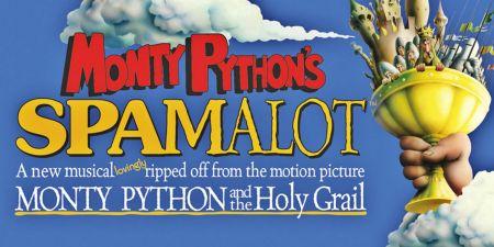 """Spamalot"" continues through April 9."