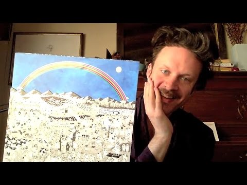 Father John Misty unveils deluxe vinyl edition of 'Pure Comedy' in unboxing video