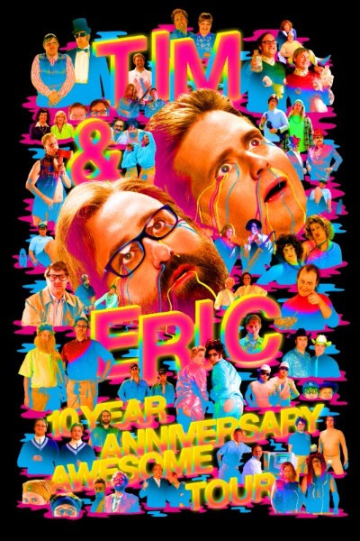 Comedy duo Tim & Eric will be heading out on tour this Summer in celebration of their Tim and Eric Awesome Show, Great Job! show turning ten