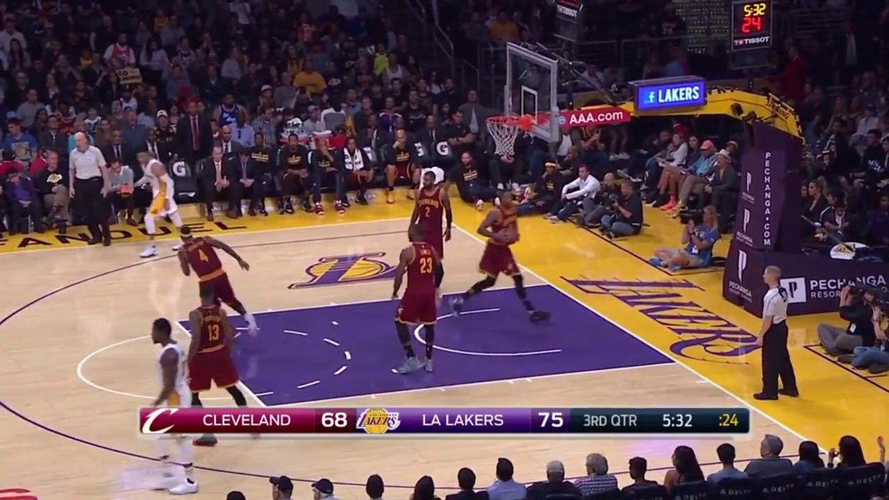 abf69a03f80 LeBron James praises Lakers rookie Brandon Ingram - AXS