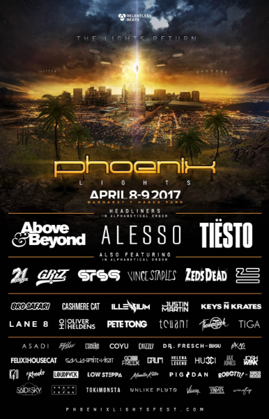 Phoenix Lights 2017: Artists on the stacked lineup share why they can't wait to play the festival
