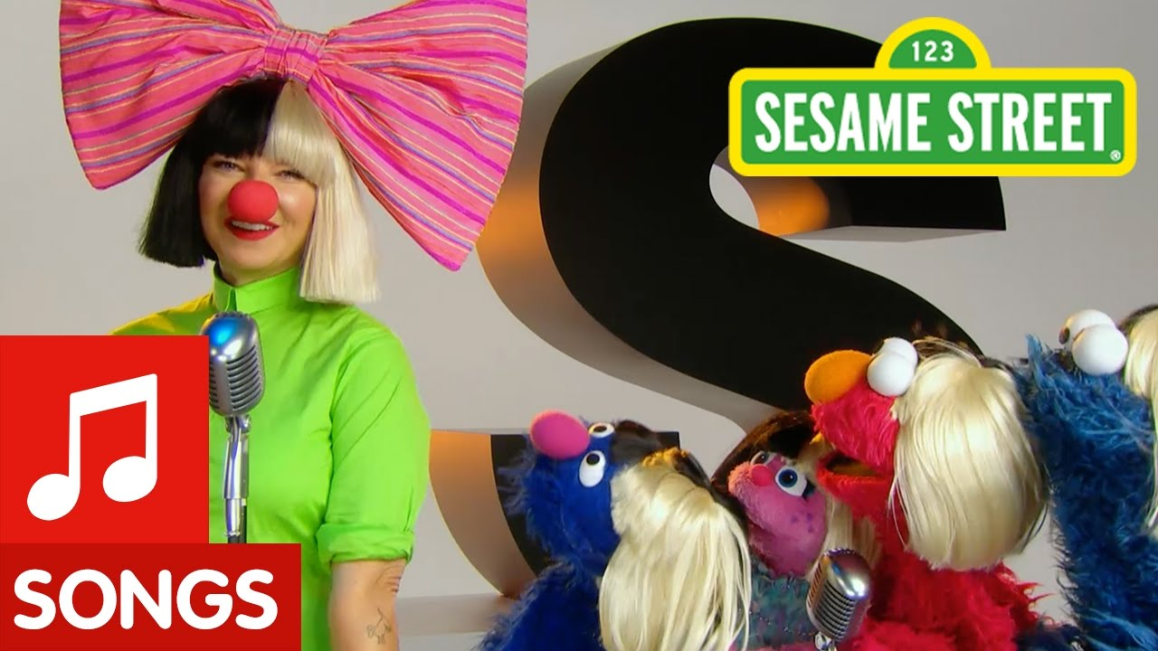 Watch: Sia guest stars on 'Sesame Street' to sing a song about songs