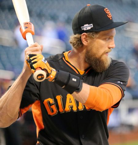 Right fielder Hunter Pence has spent two seasons fighting injuries, so the San Francisco Giants will need him to be healthy in 2017 if they