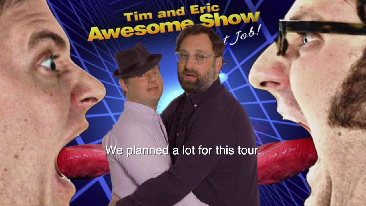 Tim and Eric return to Detroit for 10th Anniversary Comedy Tour