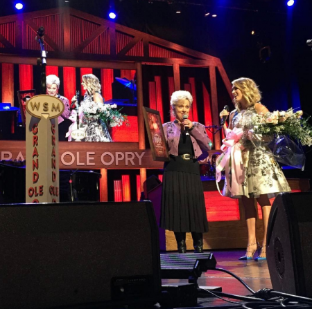 Carrie Underwood & Connie Smith at the Grand Ole Opry