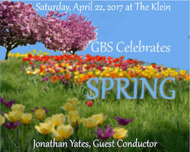 April 22, 2017 at 8 pm come celebrate Spring with the Greater Bridgeport Symphony