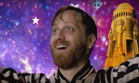 "Dan Auerbach heads into outer space in the music video for ""Shine On Me,"" the lead single from his upcoming solo album, Waiting On A Song."