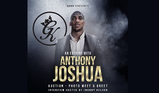 An Evening with Anthony AJ Joshua MBE tickets at indigo at The O2 in London