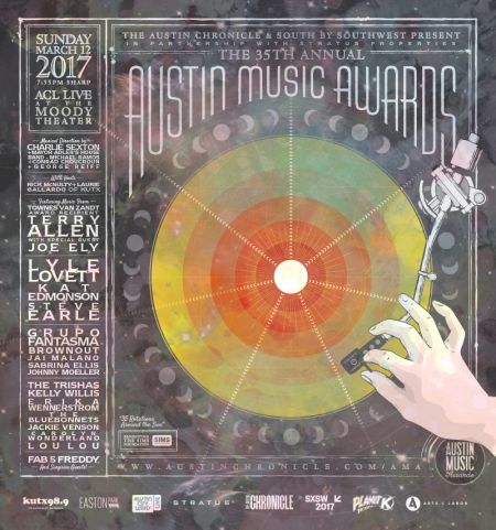 The 35th Austin Music Awards honoring the best musicians currently working in Austin is set to take place Sunday at ACL Live. After a few ye