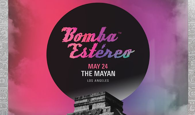 Bomba Estereo tickets at The Mayan in Los Angeles