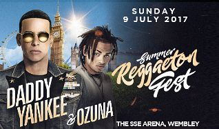 Daddy Yankee & Ozuna tickets at The SSE Arena, Wembley in London