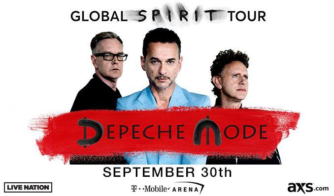 Depeche Mode: Global Spirit Tour with special guest Warpaint tickets at T-Mobile Arena in Las Vegas