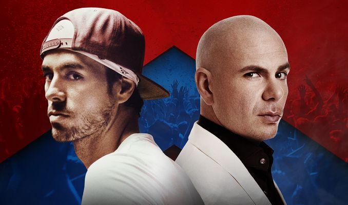 Enrique Iglesias & Pitbull tickets at Valley View Casino Center in San Diego
