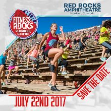 Fitness on the Rocks tickets at Red Rocks Amphitheatre in Morrison