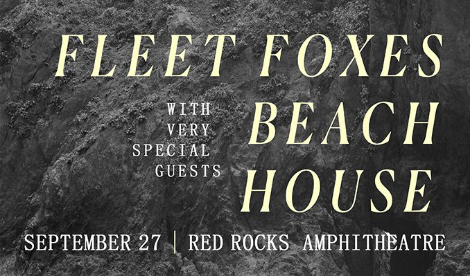 Fleet Foxes tickets at Red Rocks Amphitheatre in Morrison