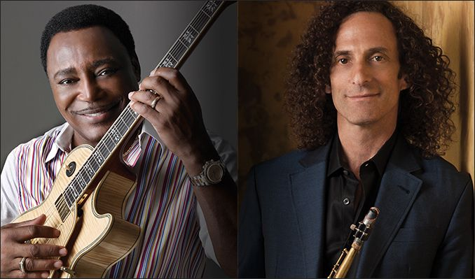 George Benson and Kenny G tickets at The Greek Theatre in Los Angeles
