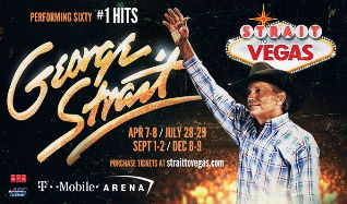 George Strait tickets at T-Mobile Arena in Las Vegas