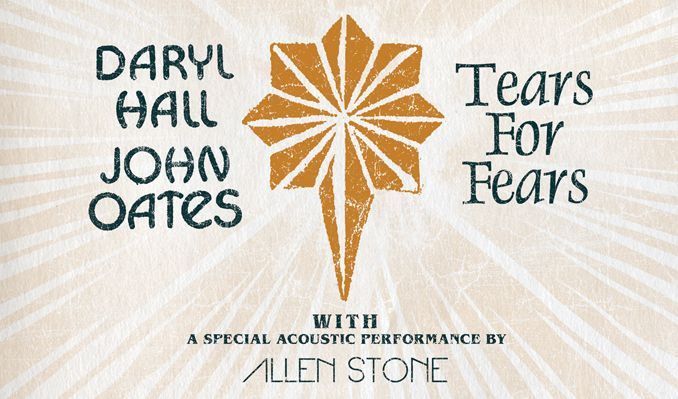 Daryl Hall & John Oates and Tears For Fears tickets at Prudential Center in Newark