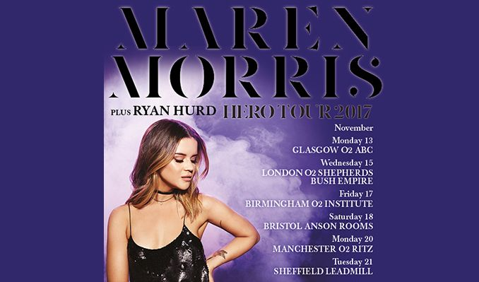 Maren Morris tickets at O2 Ritz Manchester in Manchester