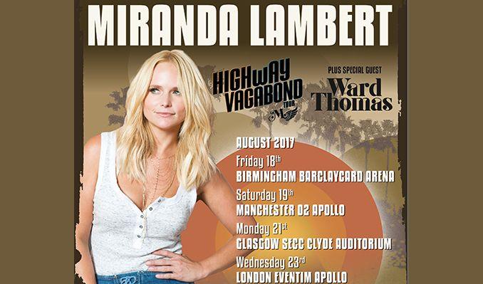Miranda Lambert tickets at O2 Apollo Manchester in Manchester