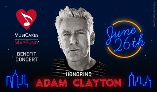 MusiCares MAP Fund Benefit Concert Honoring Adam Clayton tickets at PlayStation Theater in New York