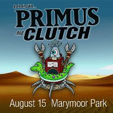 Primus tickets at King County's Marymoor Park in Redmond