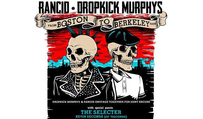 Rancid & Dropkick Murphys tickets at Sacramento Memorial Auditorium in Sacramento