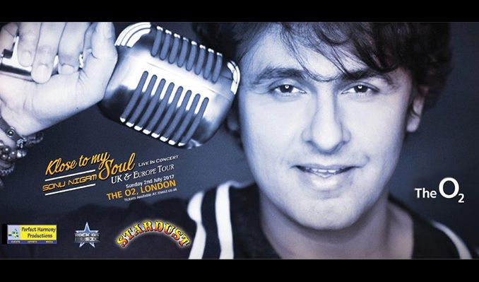 Sonu Nigam  tickets at The O2 in London