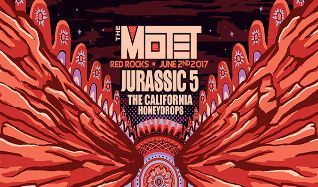 The Motet / Jurassic 5 tickets at Red Rocks Amphitheatre in Morrison