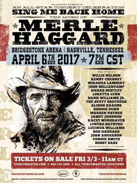 Merle Haggard tribute concert