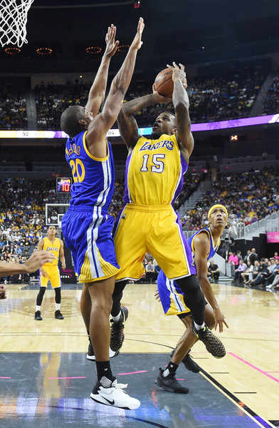 Forward Thomas Robinson hopes to stay with the Lakers after this season.