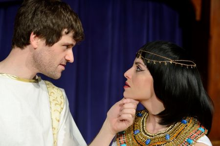 Chris Cotterman as Mark Antony and Valerie Dowdle as Cleopatra