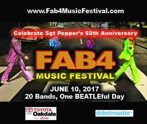 Fab4 Music Festival on June 10, 2017 at the Toyota Oakdale Theater in Wallingford, CT