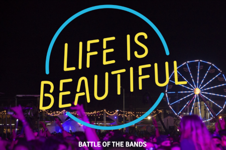 Las Vegas bands will battle for a slot at Life Is Beautiful