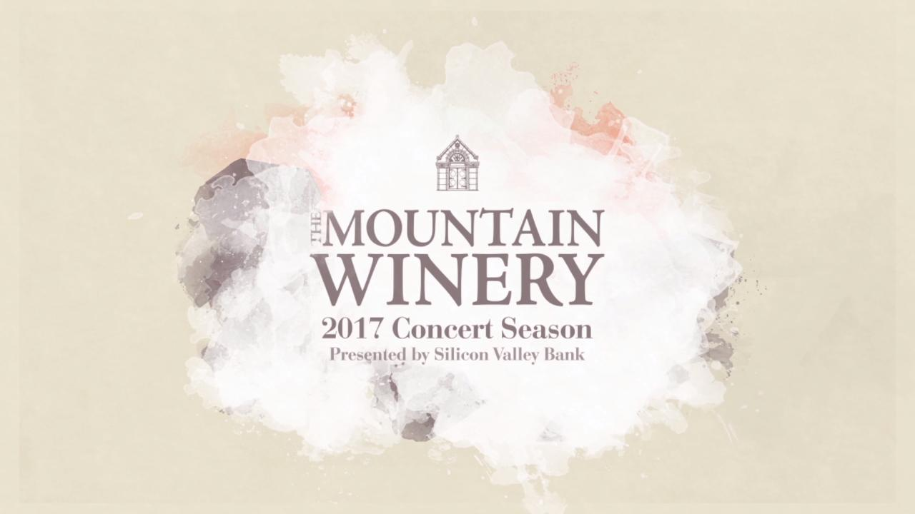 2017 Mountain Winery lineup boasts something for everyone