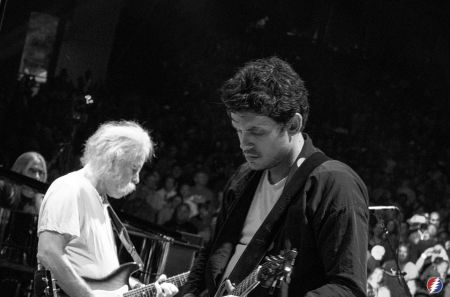 "John Mayer revisited the Grateful Dead catalog by covering ""Fire On The Mountain"" during a solo show at Madison Square Garden on Wednesday."