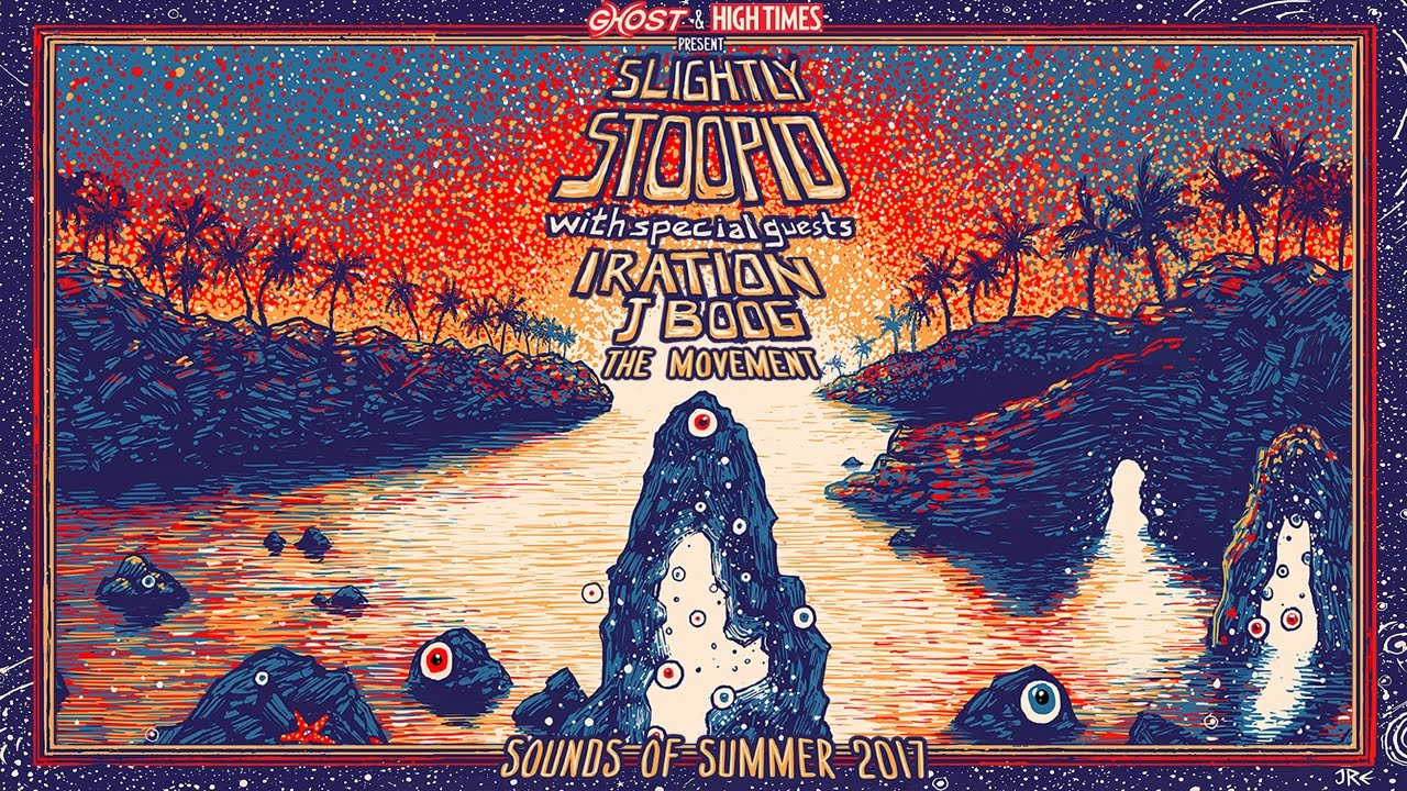 Slightly Stoopid announce summer tour with Iration, J Boog and The Movement