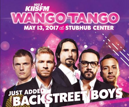 The Backstreet Boys will make their way to the StubHub Center in Carson for this year's Wango Tango