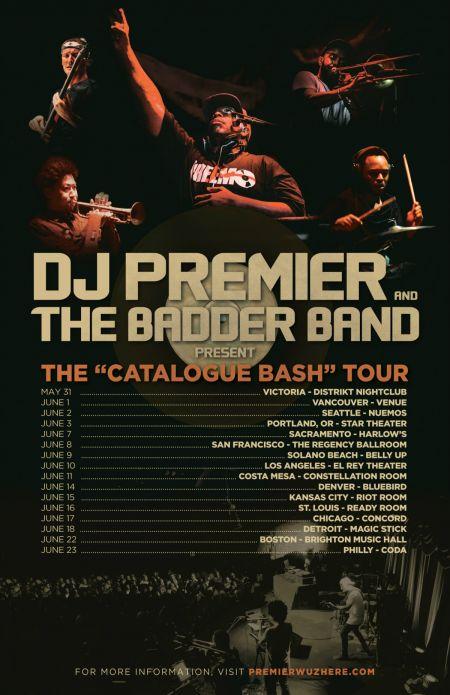 Hip-hop legend DJ Premier is touring with a live band