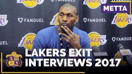 Lakers inform Metta World Peace he probably 'wouldn't be back next season'