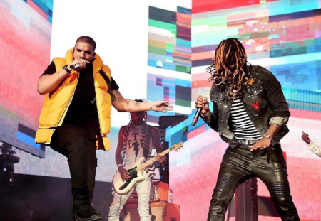 Drake surprised Future fans at Coachella