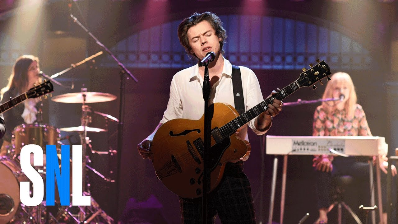 Harry Styles debuts new song 'Ever Since New York' on 'Saturday Night Live'